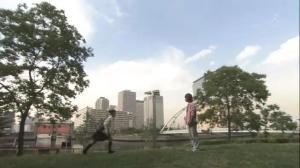 Takako ketemu Bapaknya Taro di taman ini nih..