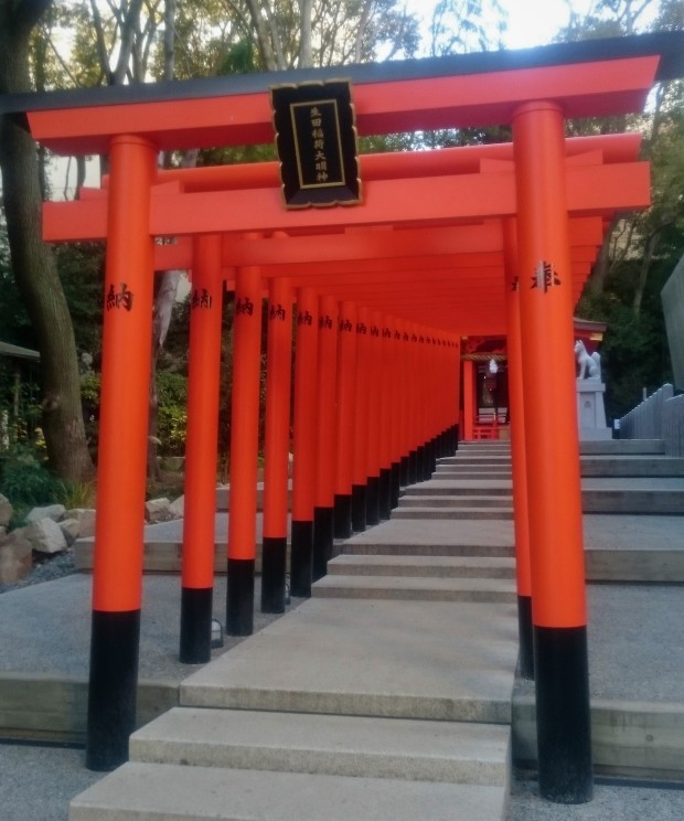 Ikuta-shire-torii.JPG