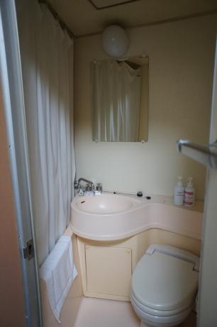 Kamar mandi di dalam kamar, biar kecil tapi cukup lah,,