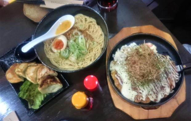 Matsuri ramen gyoza okonomiyaki
