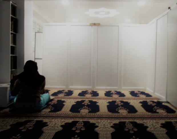 Assalaam Mosque - Women prayer area